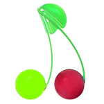 Just Chillin Lime and Cherry Chillball Fruit Chill Set with Clips