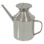 Large 18/8 Stainless Steel 24 Ounce Professional Oil Can