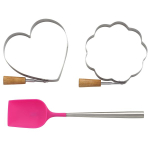 kate spade new york kitchen 3 Piece Pancake Forms and Spatula Set