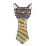 Boston Warehouse Earthenware Smarty Cat Spoon Rest