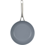 Bialetti Ceramic Pro Gray Ceramic 8 Inch Saute Pan