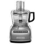 KitchenAid KFP0722CU Contour Silver 7 Cup Food Processor with ExactSlice System