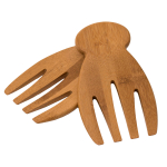 Totally Bamboo Bamboo 7 Inch Salad Hands