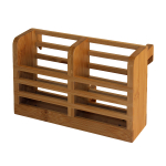 Totally Bamboo Bamboo Dish Rack Utensil Holder