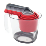 Tovolo Magnetic Nested Cup and Spoon Measuring System