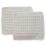 Toockies Organic Cotton His Wash Cloth, Set of 2