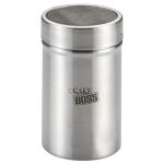 Cake Boss Stainless Steel Powdered Sugar Shaker with Lid