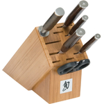 Shun Premier 7 Piece Essential Knife Block Set