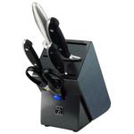 Henckels International Forged Synergy 6 Piece Hardwood Knife Block Set