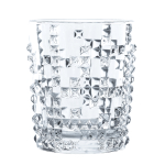 Nachtmann Punk Fine Crystal 12.29 Ounce Whisky Tumbler, Set of 4