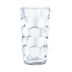 Nachtmann Bubble Fine Crystal 13.19 Ounce Longdrink Glass, Set of 4