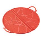 Kuhn Rikon Red Silicone 10 Inch Foldable Splatter Guard