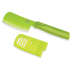 Kuhn Rikon Colori Green Stainless Steel 3 Inch Mini Prep Knife