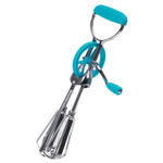 Progressive International Classic Blue Stainless Steel Egg Beater