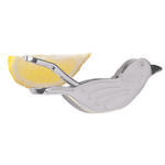 RSVP Stainless Steel Traditional Bird Lemon Squeezer