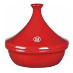 Emile Henry Burgundy Ceramic 3.7 Quart Tagine