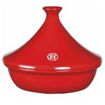 Emile Henry Burgundy Ceramic 2.1 Quart Tagine
