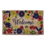 Entryways Handwoven Coconut Fiber 18 x 30 Inch Solstice Doormat