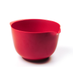 RSVP Red Melamine 2 Quart Mixing Bowl