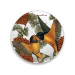 Caskata Studio Pine Birds 6 Inch Appetizer Plate, Set of 4