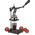 Cilio Black Aluminum The Press Manual Pomegranate and Citrus Juicer