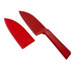 Kuhn Rikon Colori+ Red 5 Inch Krinkle Knife