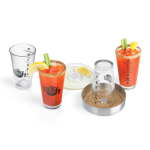 Final Touch Glass 6 Piece Bloody Mary Bar Set