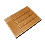 Totally Bamboo Bamboo Small Cutlery Tray