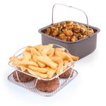 NuWave 3 Quart Brio Air Fryer 3 Piece Gourmet Accessory Kit