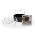 NuWave 6 Quart Brio Air Fryer 3 Piece Gourmet Accessory Kit