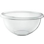 Guzzini Happy Hour Transparent 11.6 Quart XXL Season Salad Bowl