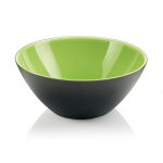 Guzzini My Fusion Kiwi and Black 1.2 Quart Bowl