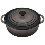 Le Creuset Oyster Enameled Cast Iron 2.75 Quart Shallow Dutch Oven