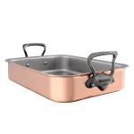 Mauviel M'héritage Copper Tri-Ply Roaster