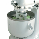 KitchenAid KICA0WH Ice Cream Maker Attachment for Stand Mixer