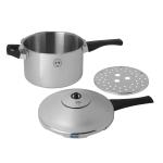 Christopher Kimball for Kuhn Rikon Stainless Steel 5.3 Quart Duromatic Pressure Cooker