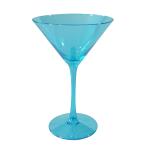 Artland Luster Turquoise 7 Ounce Martini Glass