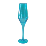 Artland Luster Turquoise 8 Ounce Flute