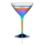 Artland Rainbow 9 Ounce Martini Glass