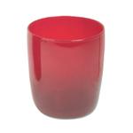 Artland Midnight Rouge Red 13 Ounce DOF Glass
