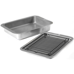 Nordic Ware 3 Piece Toaster Oven Grill and Bake Set