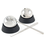 Soiree Tilt Twin Beverage Chilling Spheres with Garnishing Sticks and Stands