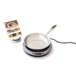 Hestan Cue Bluetooth Smart Induction Burner with Tri-ply Stainless Steel 11 Inch Skillet