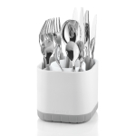 Guzzini Kitchen Grey Fill and Drain Cutlery Drainer