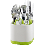 Guzzini Kitchen Apple Green Fill and Drain Cutlery Drainer