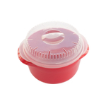 Nordic Ware Red 1.3 Quart Microwave Multi Boiler Bowl