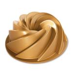 Nordic Ware Gold Aluminum 10 Cup Heritage Bundt Pan