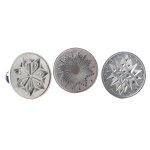 Nordic Ware Cast Aluminum 3 Inch Starry Night Heirloom Cookie Impressions Stamp Set