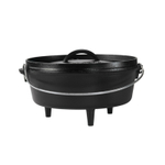 Lodge Cast Iron 4 Quart Camping Dutch Oven