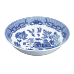 HIC Harold Import Co Blue Willow 1.2 Quart Round Vegetable Bowl